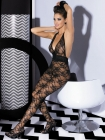 Bodystocking Blumenmuster